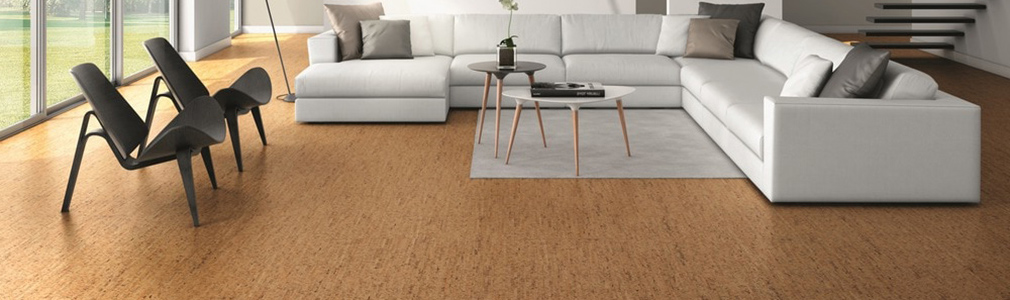 Cork pillar flooring for Sustainable cork flooring